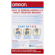 omron 5 series upper arm blood pressure monitor with cuff that