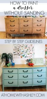 can chalk paint be used without sanding how to paint a dresser diy dresser furniture makeover