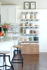kitchen counter organizer ideas kitchen counter shelves space saving pantry item shelves kitchen