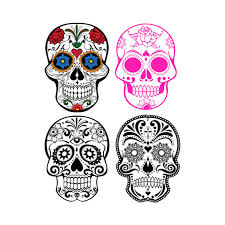 sugar skull cake topper sugar skull svg files for cricut silhouette cameo files designs