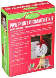 santa s lucky memory paw print ornament kit pat