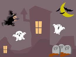 cute halloween powerpoint background celebrations ppt backgrounds ppt backgrounds
