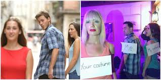 Jealous Girlfriend Meme - this jealous girlfriend meme costume just won halloween allure