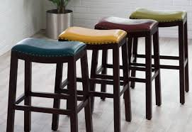 kitchen classy bed bath and bar elegant counter height backless swivel stools stainless