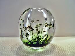 Orrefors Vase Orrefors Sweden Graal Edward Hald Fish Vase 13 Cm Orrefors
