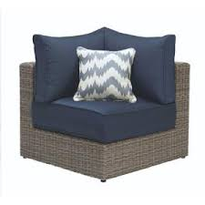 wicker outdoor sofa patio sense sino mocha all weather wicker patio sectional sofa set