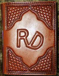 western photo album personalized leather memory books personalized leather photo