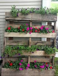 tips for keeping dirt inside pallet planters pallet planters