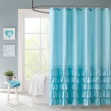 aqua ruffle comforter elegant romantic blue ruffle bedding twin xl full queen girl