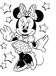 minnie mouse pictures color print mickey minnie