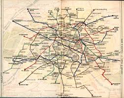 Streetcar New Orleans Map by Map Of Paris Metro 1949 Maps Pinterest Paris Metro Rapid