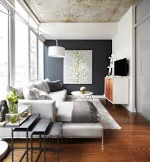 small apartment living room design ideas home interior inspiration for mid sized contemporary family room remodel other with black walls and wall mounted