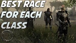 best online class elder scrolls online best race for each class