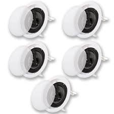 in ceiling home theater speakers acoustic audio cs ic83 in ceiling 8