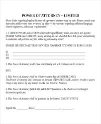 power of authority template 11 power of attorney templates free sle exle format