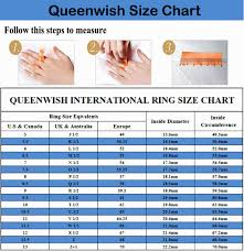 mens wedding ring sizes queenwish 6mm blue silvering celtic tungsten carbide ring