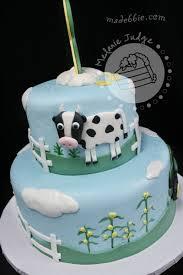 Cake Walk Farm Themed Birthday Cake
