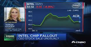 former sec official timing of stock sale by intel s krzanich a