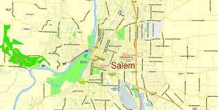 portland vancouver oregon city salem large area printable