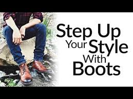step up casual style with leather dress boots one men u0027s shoe