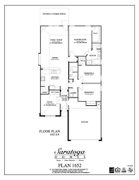 Us Homes Floor Plans by Plan 1652 Saratoga Homes Houston