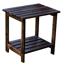 Adirondack Coffee Table - adirondack side table
