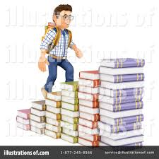 college student clipart 1446709 illustration by texelart