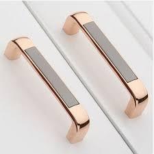 rose gold cabinet pulls 128mm fashion modern kitchen cabinet handle pull rose gold dresser