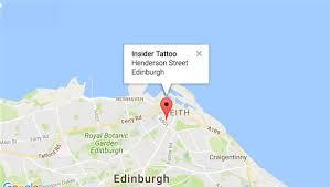 insider tattoo studio edinburgh scotland