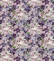 dollhouse wallpaper floral trellis victorian flower antique decor
