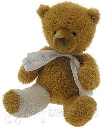 get well soon teddy get well teddy with broken leg gund teddy friends