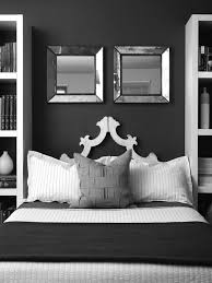 Black And White Bedroom With Grey Walls Bloggienotes Com Modern Design And Architecture