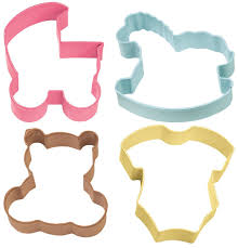 amazon com wilton baby theme cookie cutter 4 piece set cookie