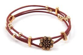 diy 3 strand leather bracelet bead shop