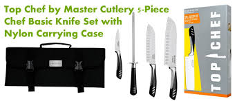 basic kitchen knives professional chef knife set with bag reviews 2018 best chef