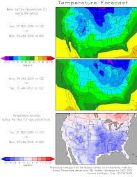 National Temperature Map Our Current Weather A Test For Forecast Models U2013 December Shaping