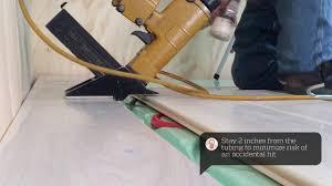 Installing Engineered Hardwood Flooring Over Radiant Heat Installing Hardwood Over Warmboard Radiant Panels Youtube