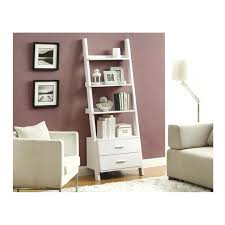 Leaning Bookshelf With Desk Leaning Bookcase Leaning Bookcase Ladder Bookcases Leaning