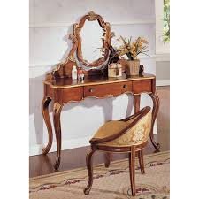 Wood Vanity Table Beautiful Wood Vanity Set Design By Ravishing Small Drawer And