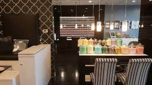 Manicure Bar Table Glo Nail Bar U0027s Polish Wall Pedi Stations Manicure Bar And Dry
