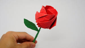 easy origami rose for kids art classes kids