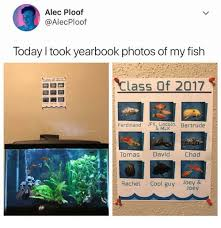 class yearbook alec ploof today i took yearbook photos of my fish class of 2017