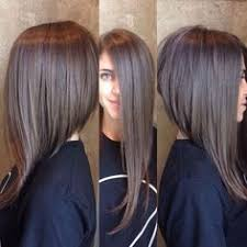 short hairstyles longer in front shorter in back long front short back pinteres