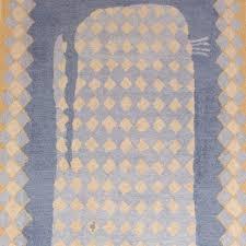 Blue Wool Rug Wool Rugs Jo Ellen Designs