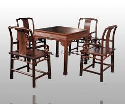 Solid Wood Living Room Furniture Dining Living Room Furniture Set 1 Table 4 Chair Rosewood China