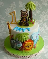 jungle theme cake jungle theme birthday cake cake by jip s cakes cakesdecor