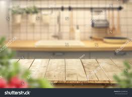 interior kitchen desk leaves stock photo 423080500 shutterstock interior of kitchen and desk and leaves