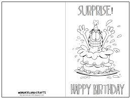 birthday cards to color birthday card unique printable birthday