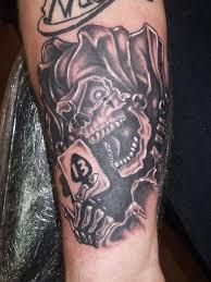 Half Sleeve Arm - 40 wonderful jester tattoos on sleeve
