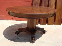 antique round dining table antique round pedestal dining table 63diam ikea dining table